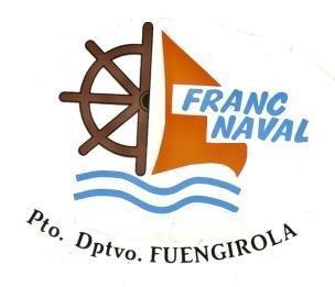 Logotipo Franc Naval, Puerto Deportivo de Fuengirola