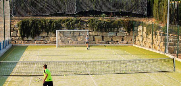 Entrenamiento de tenis en Mijas