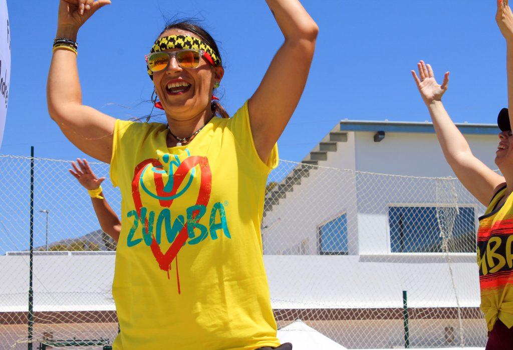 Zumba en Raquetas de Mijas
