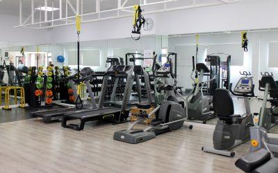 Gym en el club Raquetas de Mijas