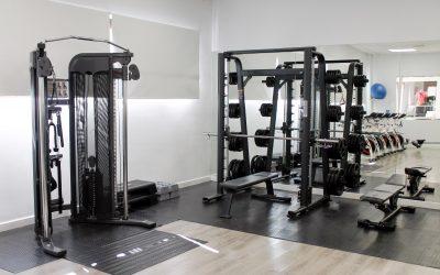 Sala de máquinas gimnasio