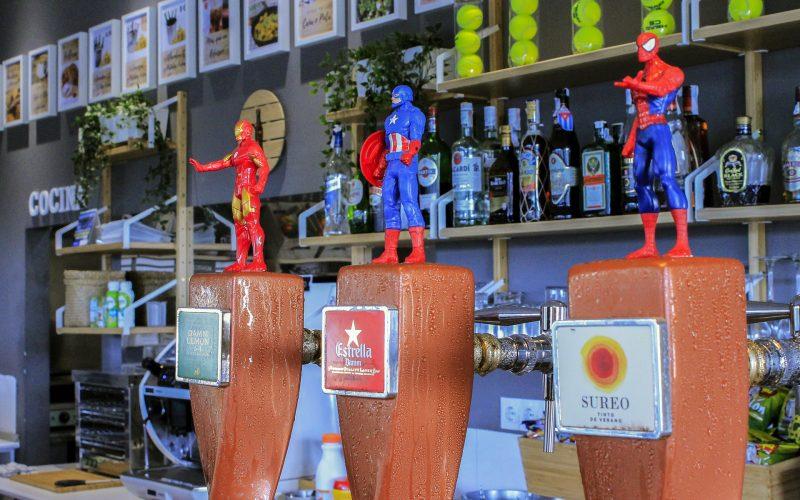 Bebidas del Bar-Terraza
