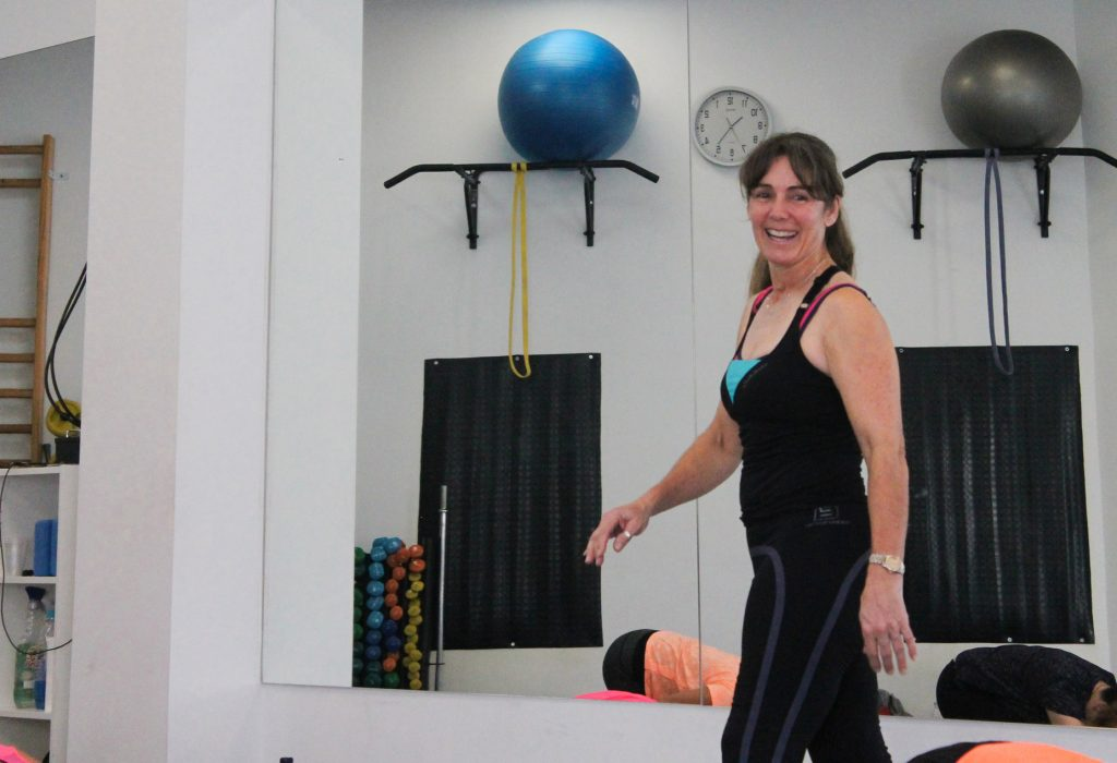 Judy Elsie, instructora de Body Toning