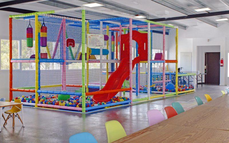 Parque de bolas infantil en Mijas / Fuengirola
