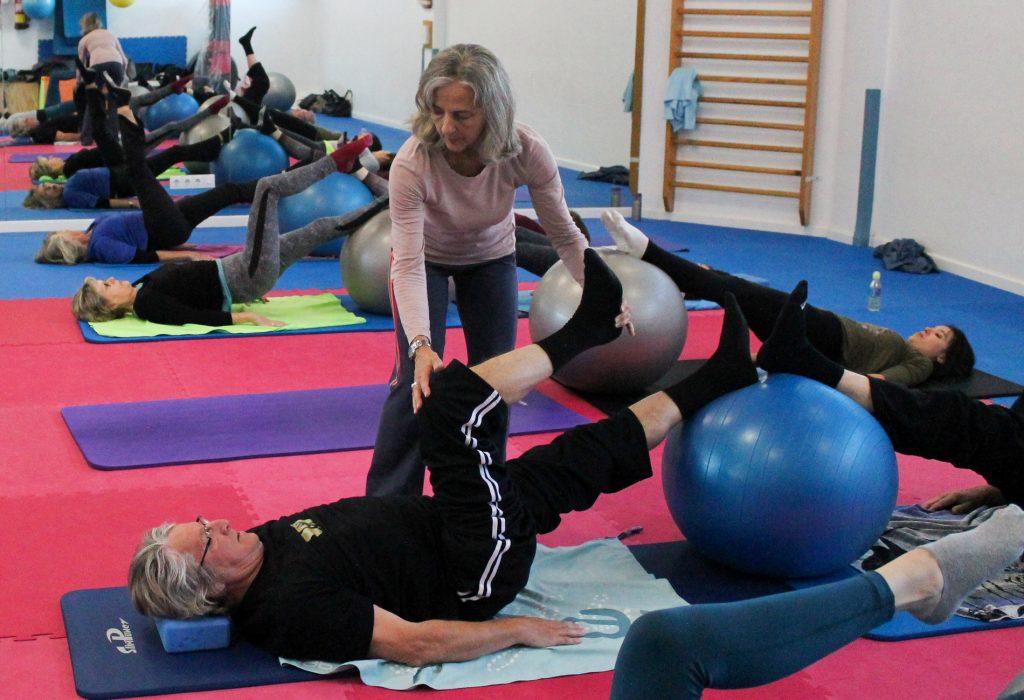 Clases de pilates con Britta Pampus